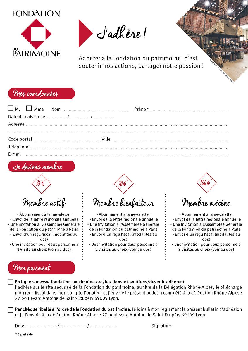 bulletin 2019 2020 avec CPadhésion particuliers RA 2020