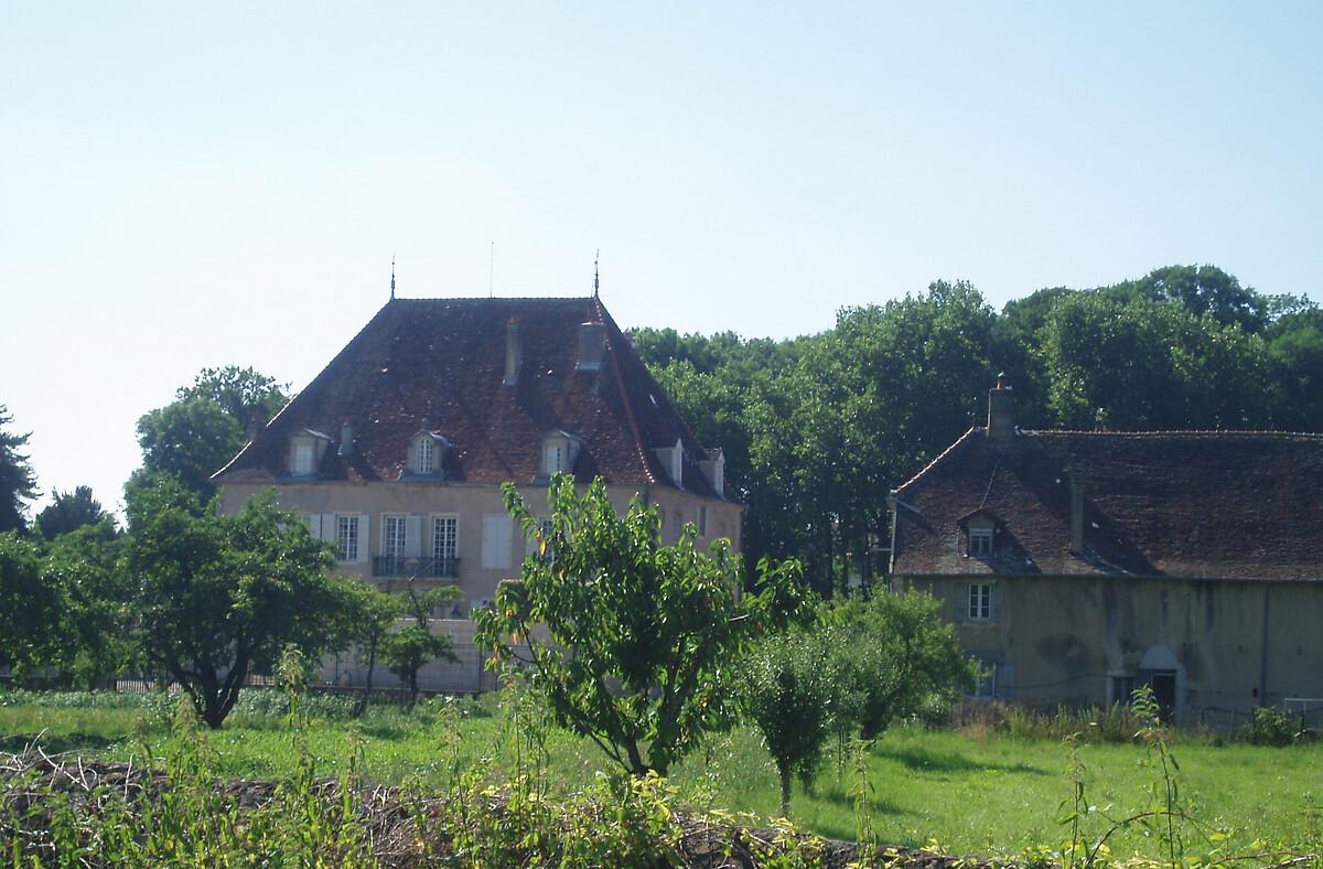 Château de Menthon à Choisey
