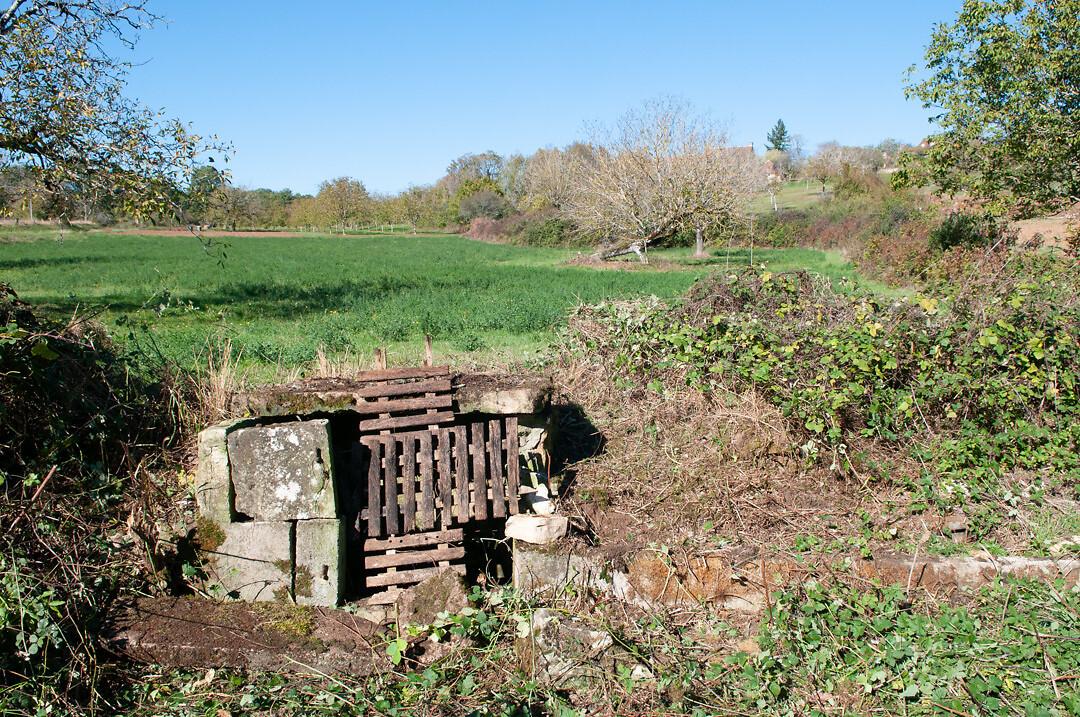 Fontaine de La Germenie, Sainte-Orse, Avant travaux