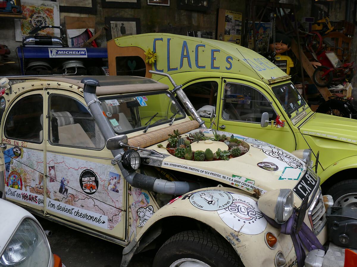 L1250758 -Le club de mécènes en Gironde rend visite à la voiture Motobloc