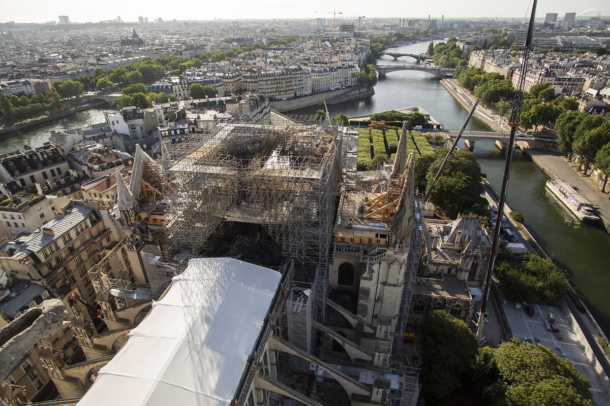 Notre-Dame de Paris - travaux