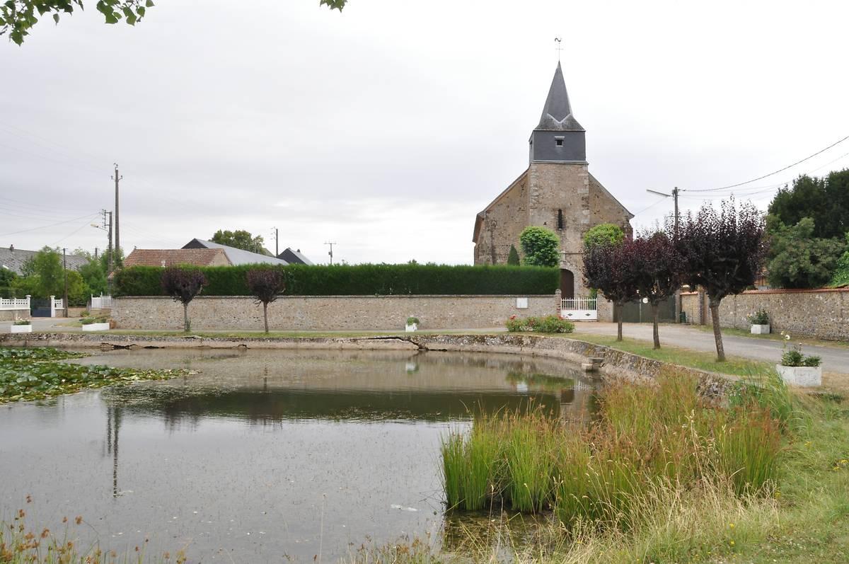 ÉGLISE SAINT-GILLES DE CHARONVILLE