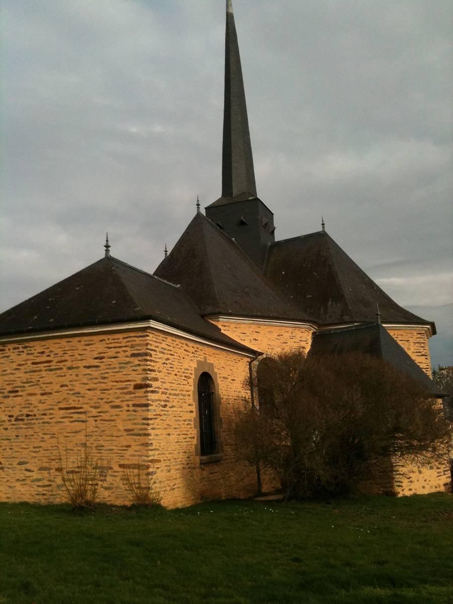 Eglise de la chapelle bouexic for Garage ad la chapelle bouexic