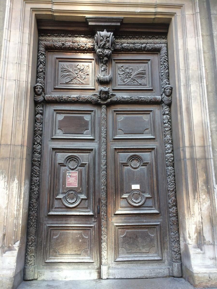 thumbnail_01porte chapelle de l'Hotel Dieu de Lyon