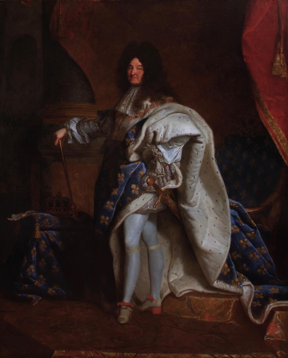 LOUIS XIV Corrigé copie corrigéerestauration Aldo Peaucelle du Louis XIV de l''Hôtel Negresco de Nice