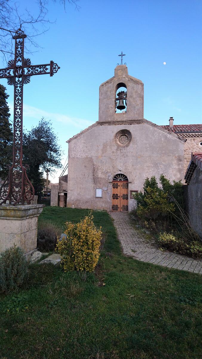 2 façade ouestEglise st Michel de Chabrillanoux
