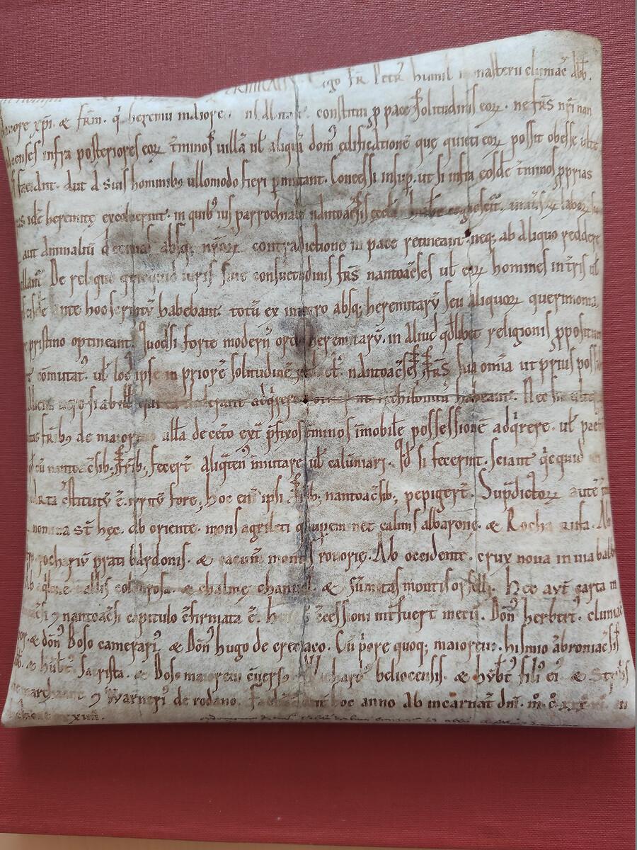 FONDS D'ARCHIVES ANCIEN DE BRENOD