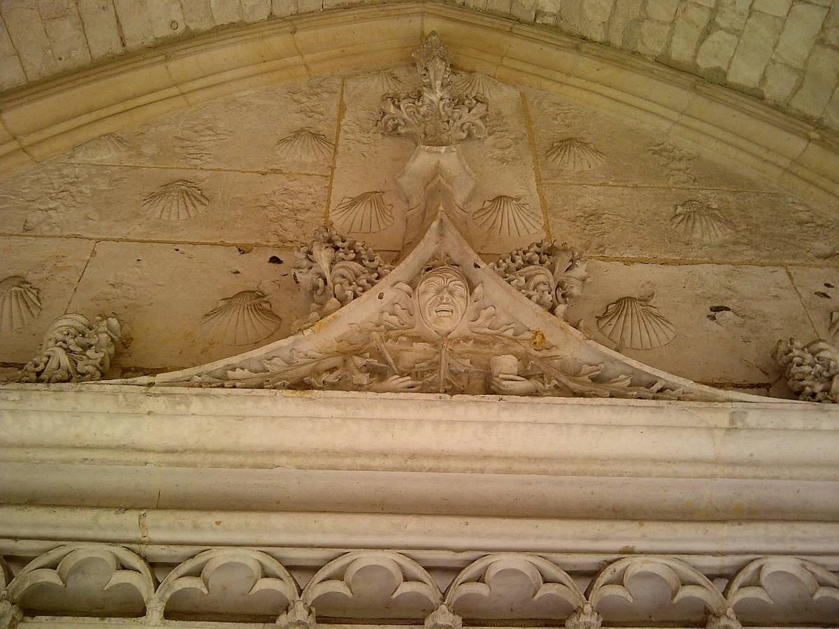 CLOITRE DE L'ABBAYE DE FONTENELLE A SAINT WANDRILLE RANCON
