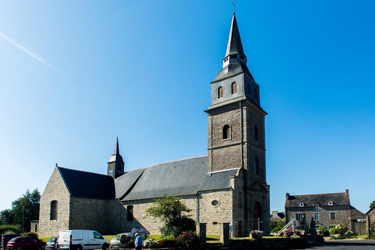 Eglise de Saint-Potan après travaux