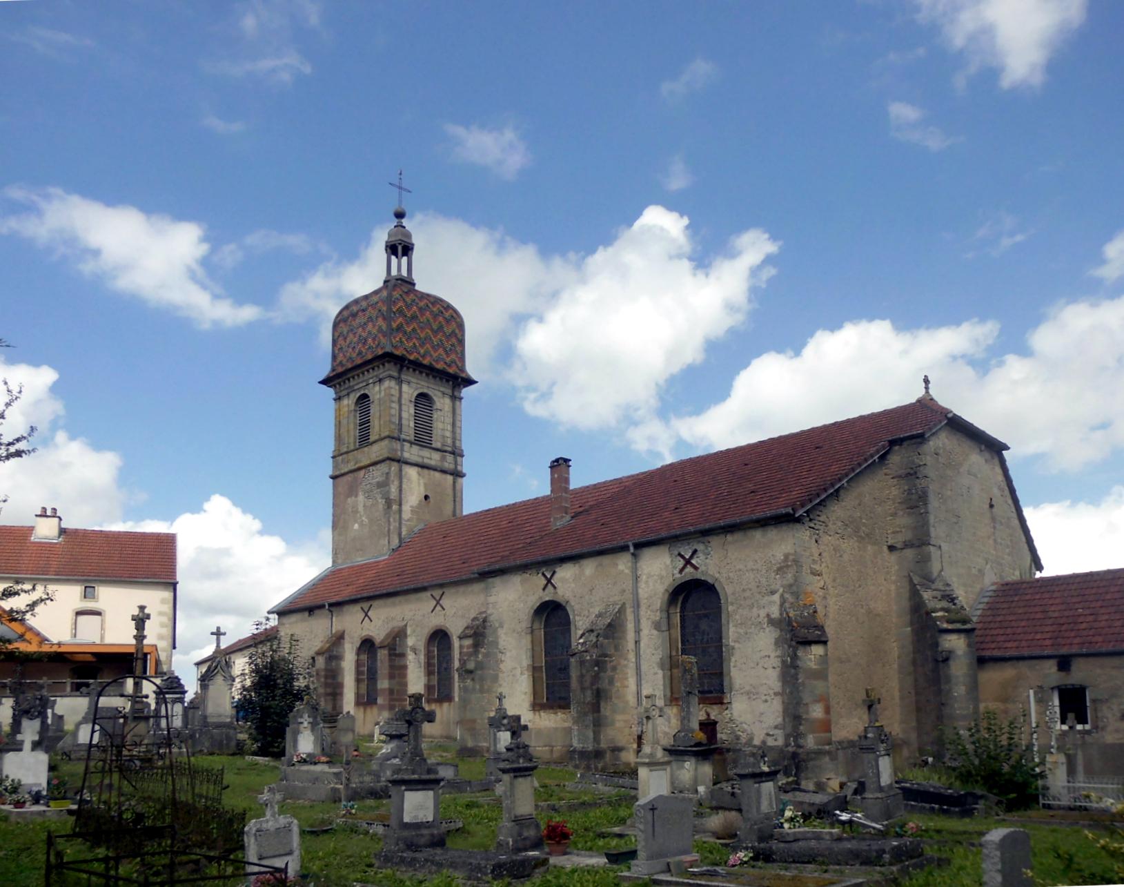 Eglise de Melincourt