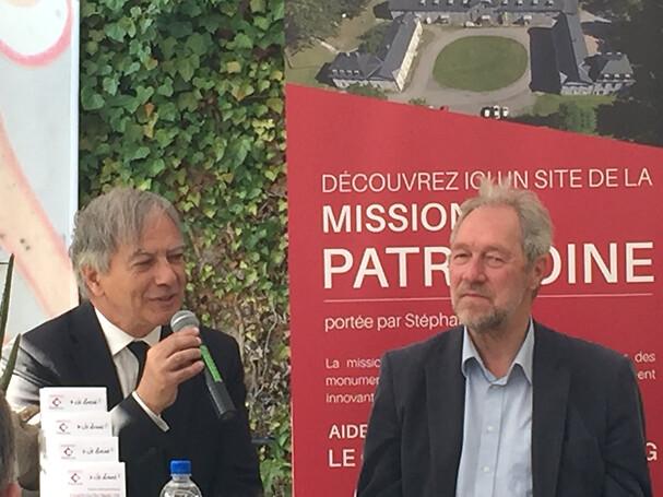 Conférence de Presse au château de Wesserling