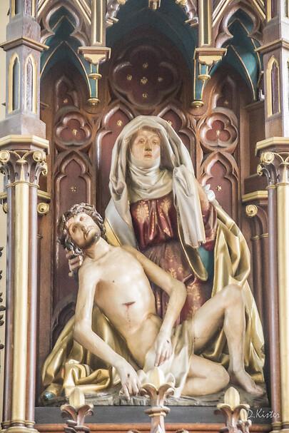 Lancement d'une collecte pour sauver les oeuvres de l'église Saint-Cyriac de Wiwersheim !