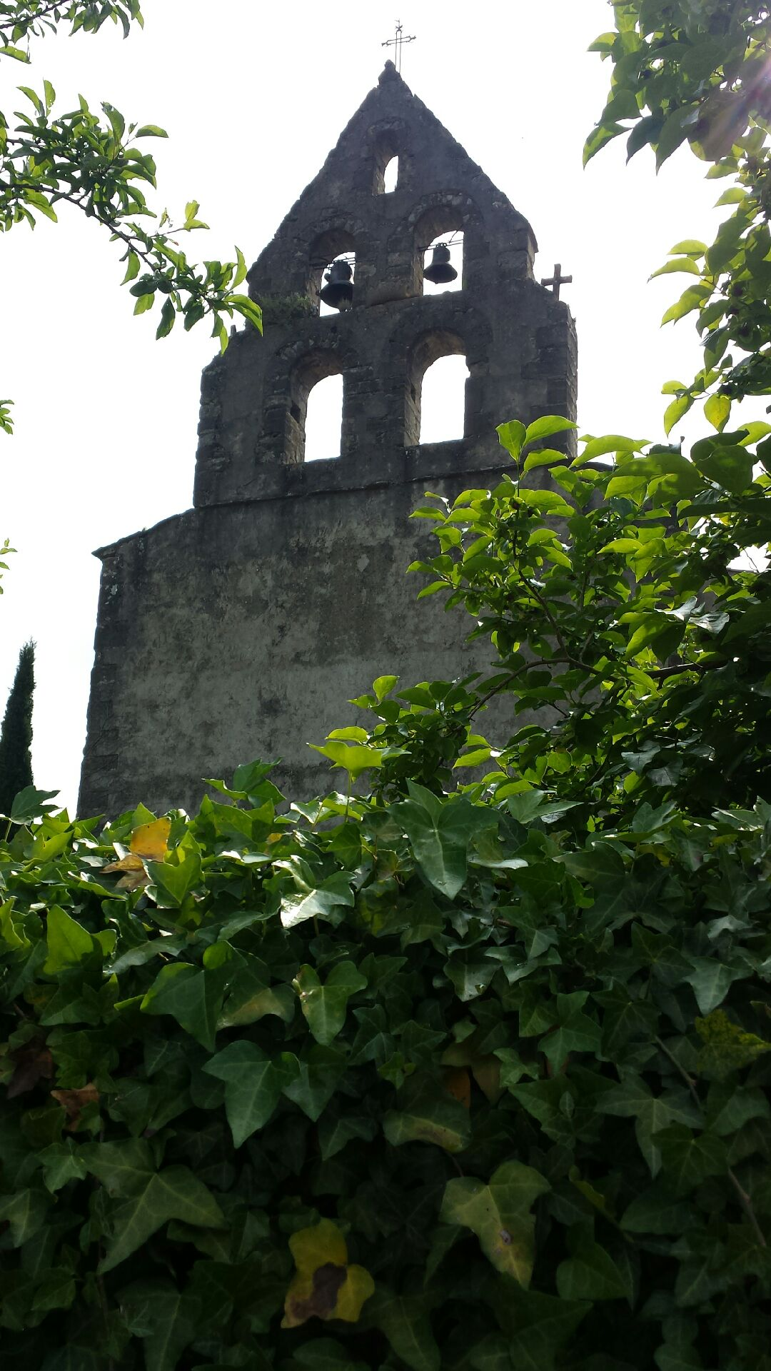 CLOCHER DE L'EGLISE DE COURTAULY