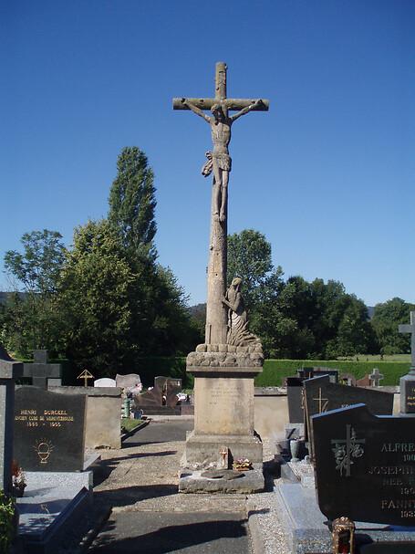 Lancement d'une collecte pour la croix de cimetière de Werentzhouse