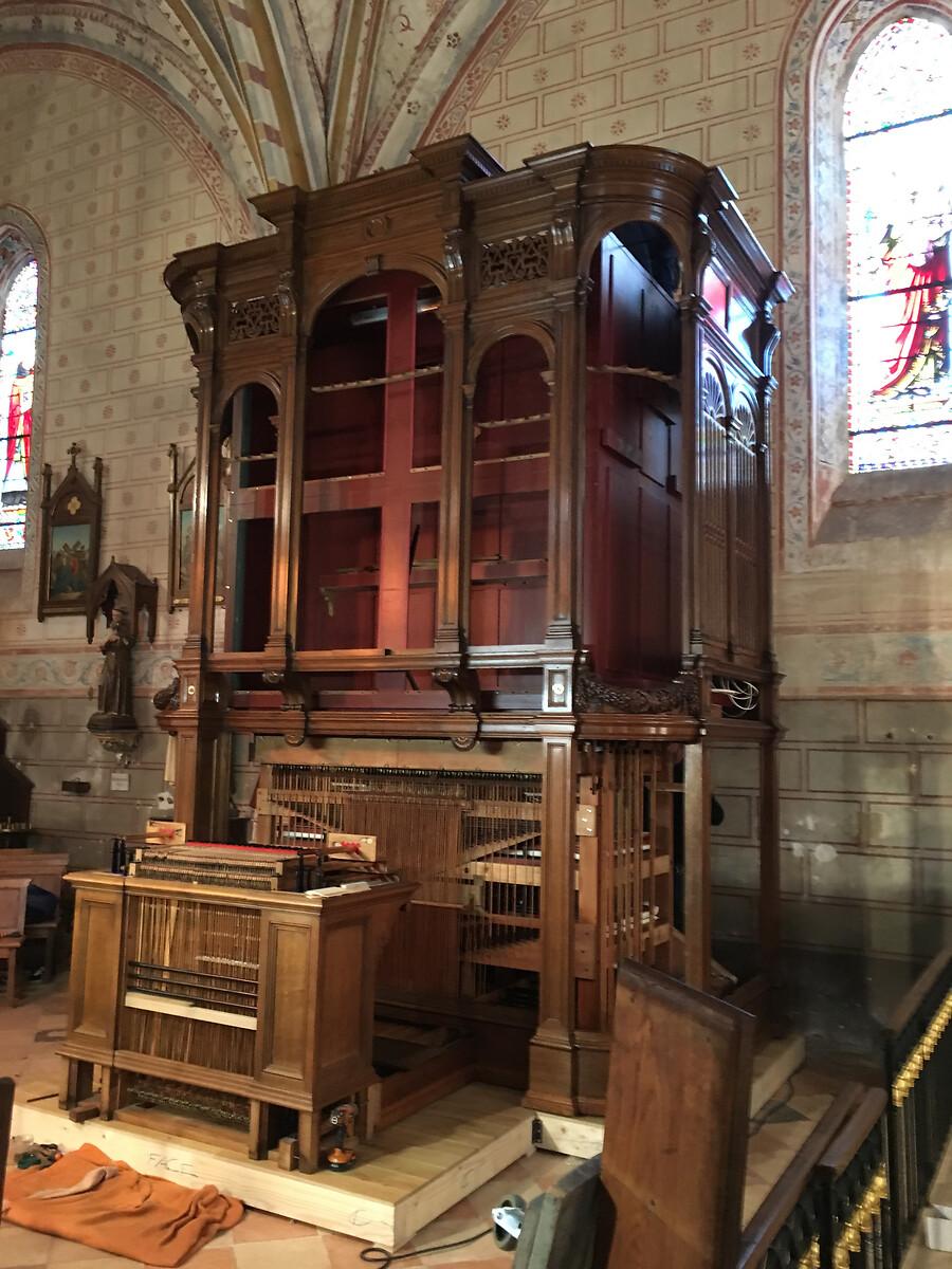 Orgue de Gounod, La Sauve