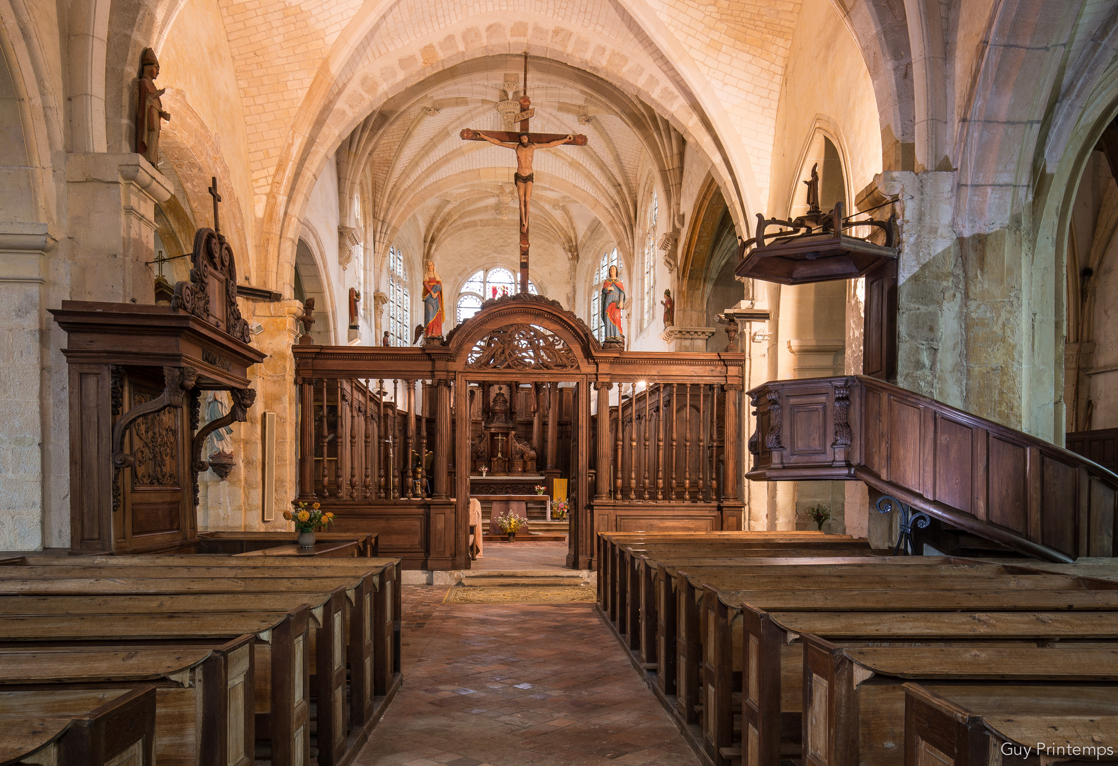 EGLISE NOTRE DAME A COURGIS