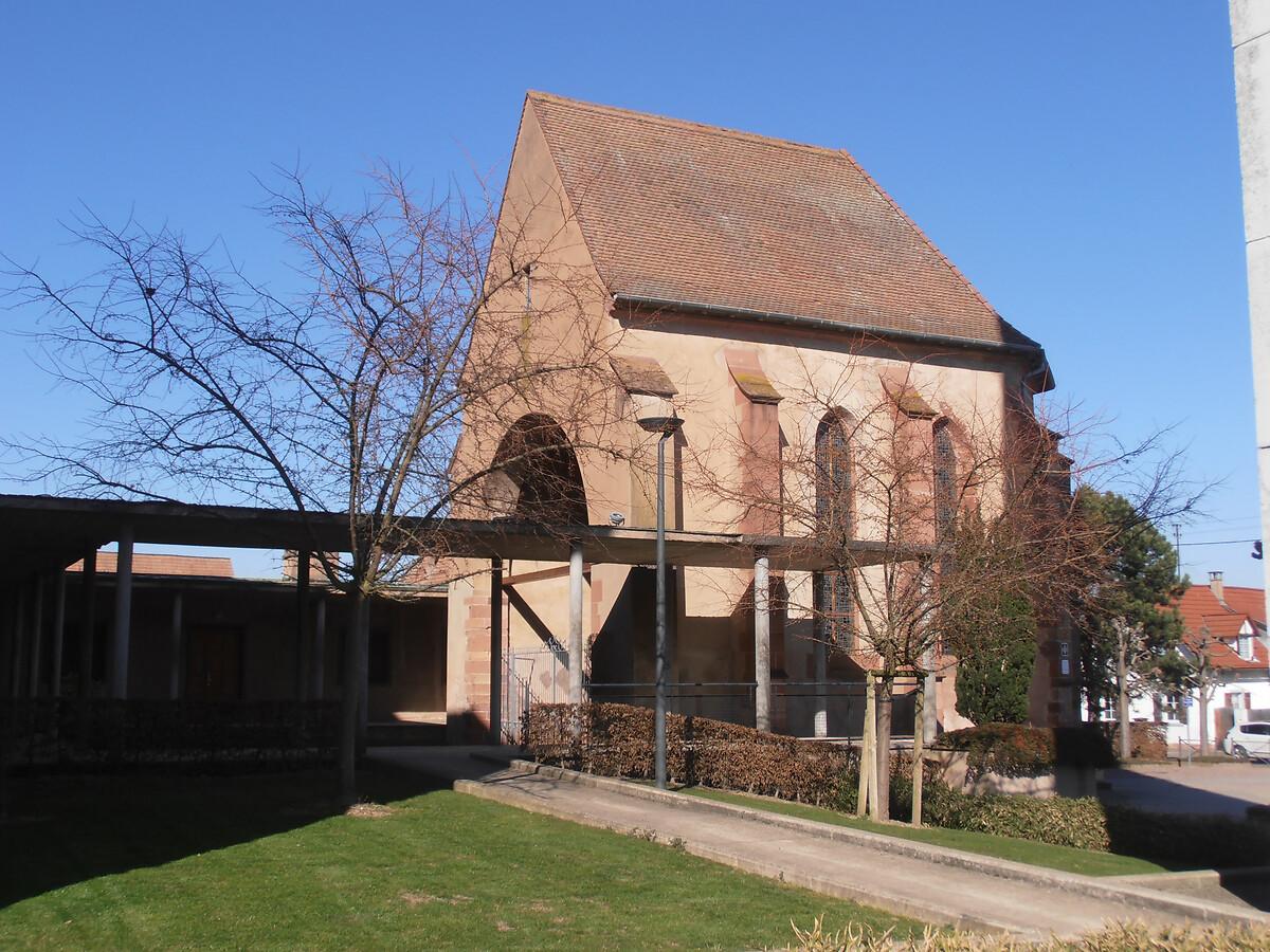 choeur de l'ancienne église Saint-Michel de Rhinau