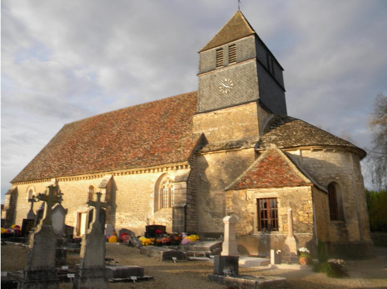 Eglise de Villy le Moutier