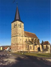 Lancement de la collecte pour sauver l'église Saint-Gall de Domfessel