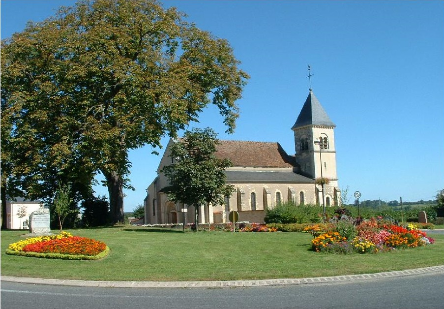 EGLISE SAINT THEODORE A COULANGES LES NEVERS