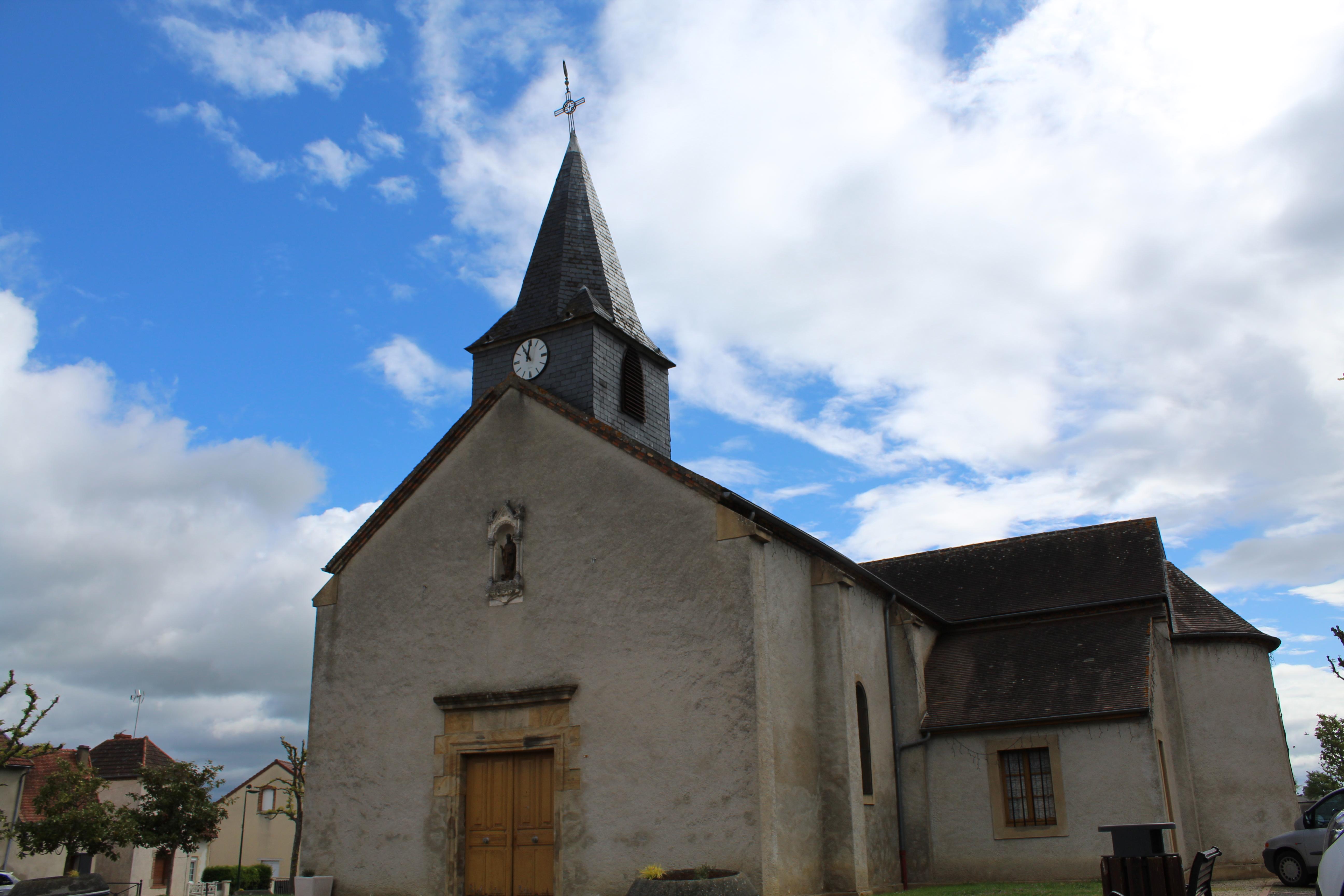EGLISE SAINT-JEAN-BAPTISTE DE LUSIGNY