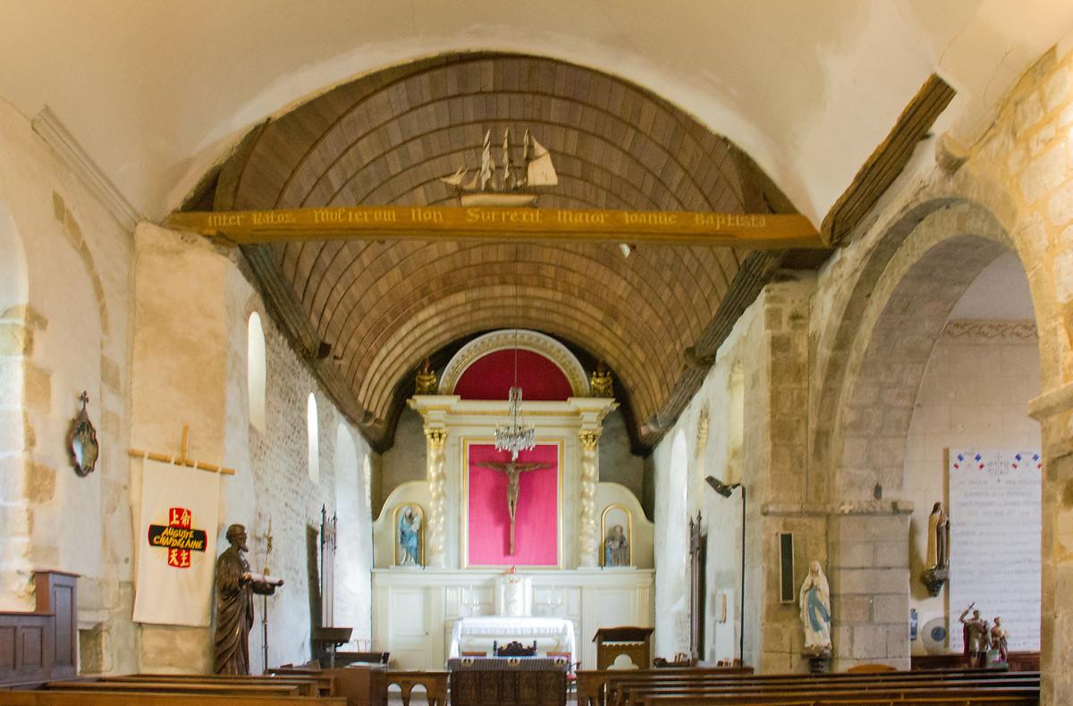 EGLISE SAINT JEAN BAPTISTE - SAINT JEAN LE THOMAS
