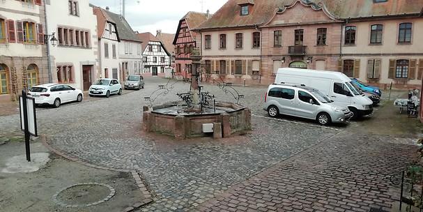 Lancement d'une collecte pour sauver la fontaine de Bergheim