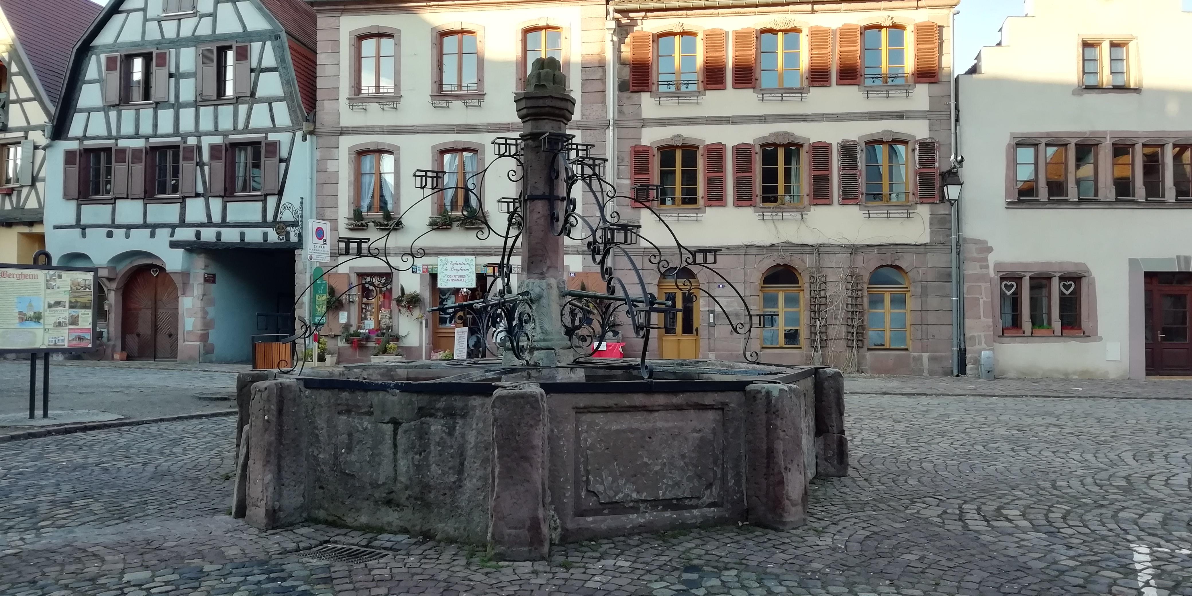 Fontaine de Bergheim