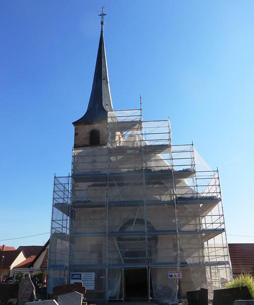 Restauration de la chapelle Saint-André de Meistratzheim