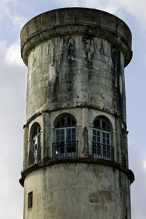 Château d'eau Le Corbusier à Podensac