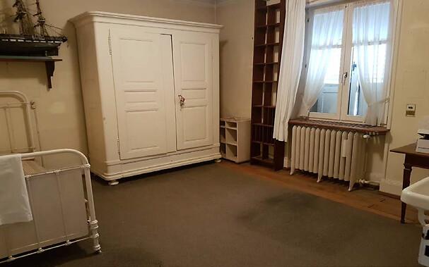Avancée des travaux de restauration de la maison d'Albert Schweitzer